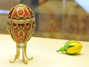 Яйцо с бутоном розы. 1895 г.